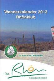 Rh&ouml;nklub Wanderkalender 2013