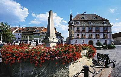 Ortskern von Bad Königshofen