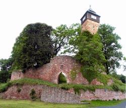 Ruine der mittelalterlichen Burg