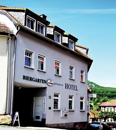 Hotel am Rathaus Außenansicht