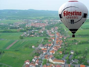Ballonfahren in der Rhön