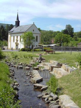 Bischofsheim Rhön Wasserspielplatz