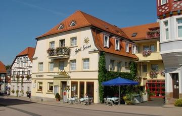 Hotel Restaurant Sonne Außenansicht