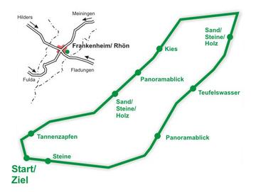 Rhöner Barfuß-Panorama-Weg am Heilpflanzengarten