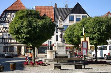 Mellrichstadt Marktplatz