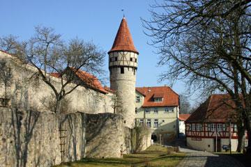 Ostheim Ansicht Kirchenburg