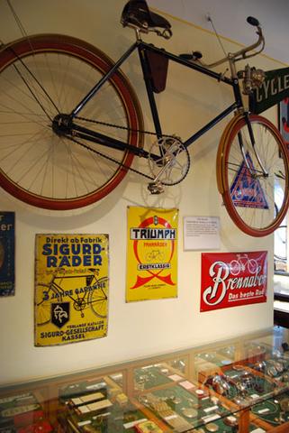 20-er Jahre Raum des Fahrradmuseums