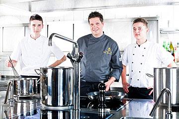 Bild:Lothar-Mai-Haus Küchenteam