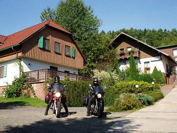 Bild:Waldhaus Wittgenthal Motorradgäste