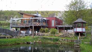 Bild:Fischerhütte Außenansicht