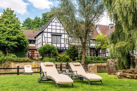Romantik Hotel Neumühle unterkünfte hotels rhön pensionen rhön ferienwohnungen