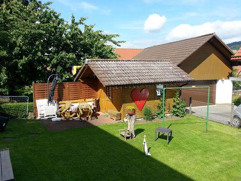 Ferienhaus Groesch Gartenhuette