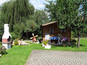 Ferienhaus Grumbach Gartenanlage