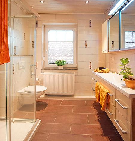 Bild:Gästehaus Ingrid Badezimmer