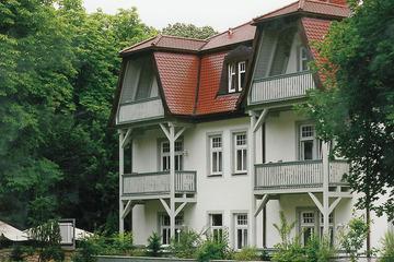 Hohenzollern Gartenseite