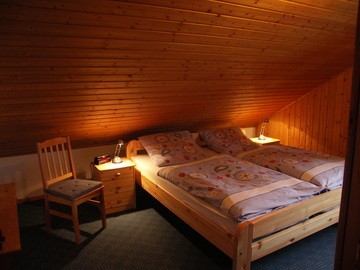 Rhönferienhaus Link Schlafzimmer