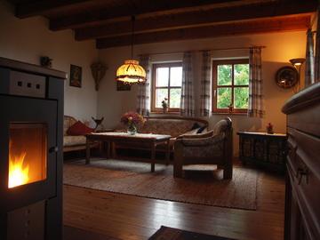 Rhönferienhaus Link Wohnzimmer