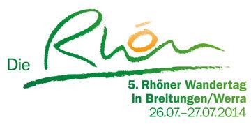 5. Rhöner Wandertag - Logo