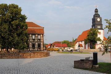 Breitungen Marktplatz
