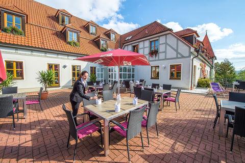 Restaurant Landhotel Thüringer Hof Terrasse