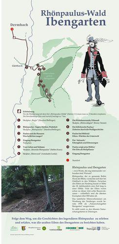 Karte Rhoenpaulus