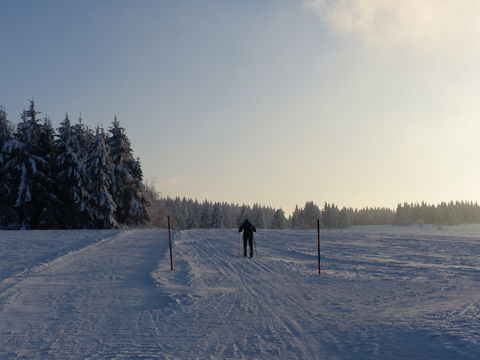 Bild:Thueringer Rhoenhaus Winter