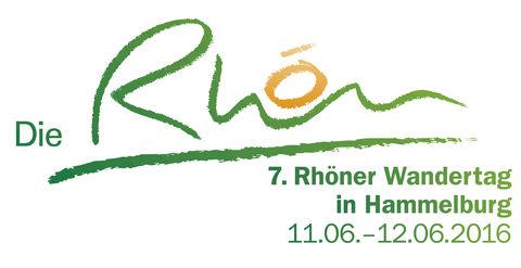 7. Rhöner Wandertag Logo