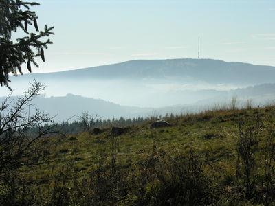 Bild:Ausblick von der Würzburger Bergbundhütte