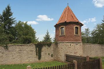 Euerdorf Pulverturm+Mauer