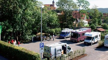 Oberelsbach - Wohnmobilstellplatz