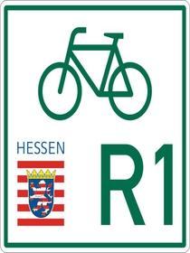 Logo Fulda-Radweg R1