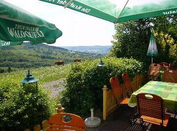 Landgasthof Rhönstübchen Terrasse