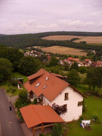 Haus am Sodenberg Luftansicht